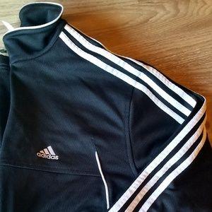 🖤 Adidas Mens Track Athletic Black Jacket EUC
